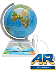 Oregon Scientific SG268R - SmartGlobe Adventure AR - Mappamondo interattivo con Realtà aumentata