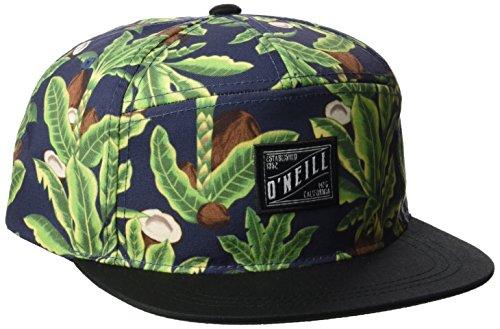 O'Neill Herren Bm Wilderness Cap Caps, Grün Aop with Blue, One Size