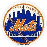 Old Glory New York Mets–Baseball Logo in/out Magnet MLB Pro Baseball Lizenzprodukt Sports Merchandise