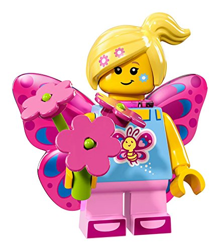 Lego Minifigures Series 17 - #7 BUTTERFLY GIRL Minifigure - (Bagged) (Astronaut Apollo Kostüm)
