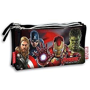 Montichelvo 599386031 – Portatodo Triple Plano Avengers
