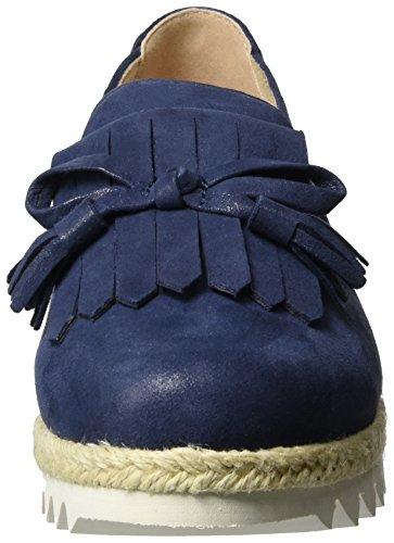 Caprice 24700, Mocassins Femme Bleu (Ocean Suede)