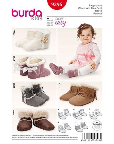 tron von Hausschuhe für Babys Weiß (Booties Mode)
