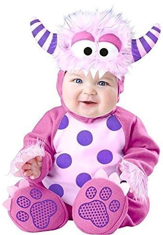 Bébé Halloween - Bébé Filles Rose Violet Halloween Monstre Dinosaures