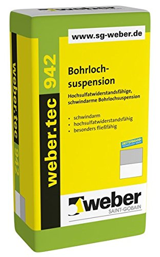 weber.tec 942, 20kg - Bohrlochsuspension