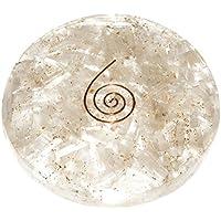 Crocon Selenite orgone Runde Edelsteine Vastu Platte Vedic Astro, Kristall-Größe für 3–4cm preisvergleich bei billige-tabletten.eu