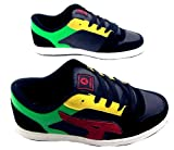 Airwalk Mens Reflex Trainers Skate Shoe Lace Up Suede Black/Red/Green UK Sizes 7 8 9 ...