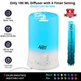 Allin Exporters DT-2109 Cool Mist Ultrasonic Humidifier Aroma Diffuser with 4 Timer Setting