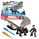 Dragons - Action Game Set - Dragon Sdentato e Hiccup Dragon Trainer