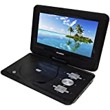"""Sylvania 10.1"""" Portable DVD And Media Player With 5 Hour Battery Life - Swivel Screen"""