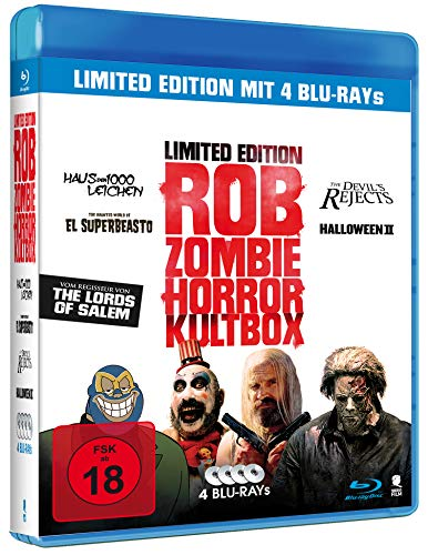 Rob Zombie - Horror Kultbox (4 Movie Box) [Blu-ray]