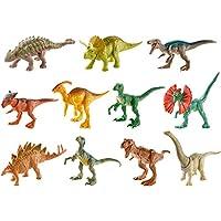 Jurassic World - Minidinosaurios de acción, Dinosaurios de Juguete, Multicolor (Mattel FML69)