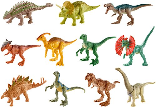 Jurassic World - Minidinosaurs of action, Toy Dinosaurs, Multicolor (Mattel FML69)