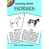 Learning about Horses [With Horses] (Learning about Books (Dover))