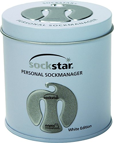 sock-clips-sockstar-white-edition-gift-box-20-pieces-in-4-light-colours-in-a-noble-metal-tin