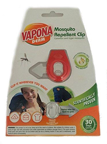 Vapona pince anti-moustique