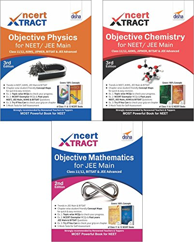 NCERT Xtract – Objective Physics, Chemistry, Mathematics for JEE Main, Class 11/ 12, BITSAT, JEE Advanced