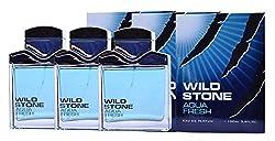Wild Stone Perfumes Aqua Fresh (Pack of 3)