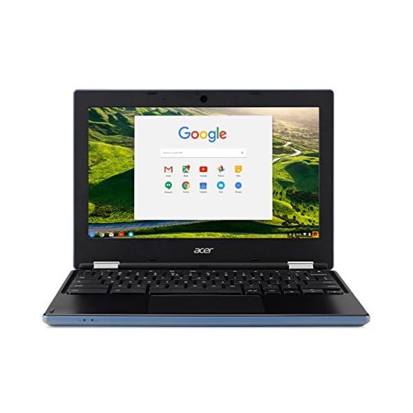 Acer NX.GR3EK.001 Chromebook 11.6-Inch Laptop (Stone Blue) – (Intel Celeron N2840 Processor, 2 GB RAM, 16 GB eMMC, Intel HD Graphics 500, Chrome OS) 51pdf 2BP2UgL