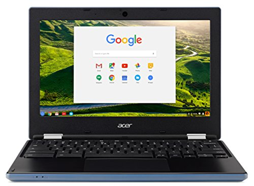 Acer NX.GR3EK.001 Chromebook 11.6-Inch Laptop (Stone Blue) - (Intel Celeron N2840 Processor, 2 GB RAM, 16 GB eMMC, Intel HD Graphics 500, Chrome OS)