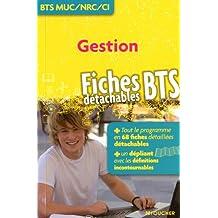 Gestion BTS MUC/NRC/CI : Fiches détachables