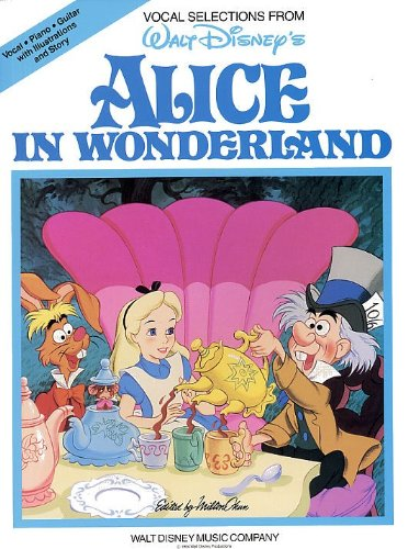 Alice In Wonderland - Piano, Vocal and Guitar - BO...