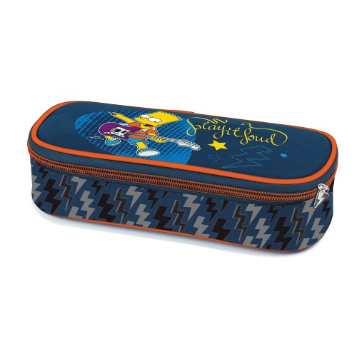 Simpsons - astuccio ovale the simpsons simpsonic