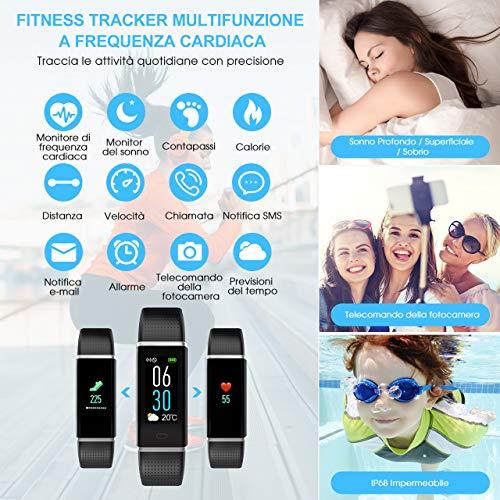 Zoom IMG-2 mpow fitness tracker ip68 orologio