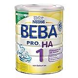 Nestlé BEBA Pro Ha 1 Anfangsnahrung, von Geburt an, 1er...