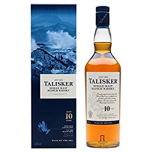Talisker Single Malt Scotch Whisky 10 Year Old 70cl (Pack of 70cl) from Talisker
