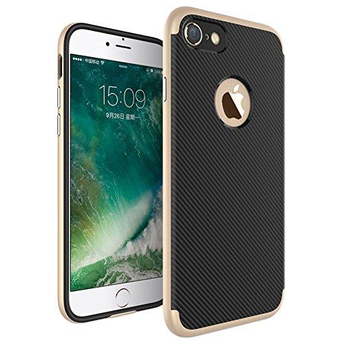 Ultraslim Case Hülle für Apple iPhone 7 Schutzhülle Cover Handyhülle Hardcase Gold