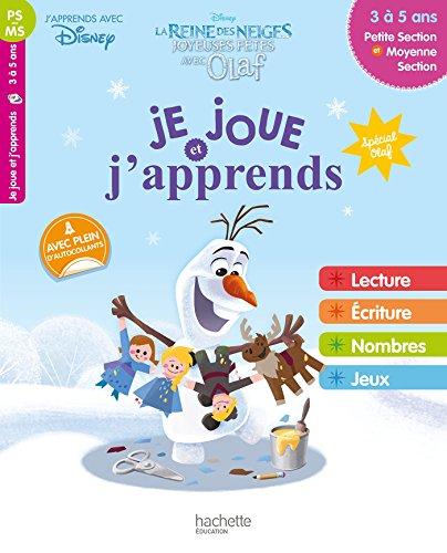 Je joue et j'apprends Olaf PS-MS par Collectif