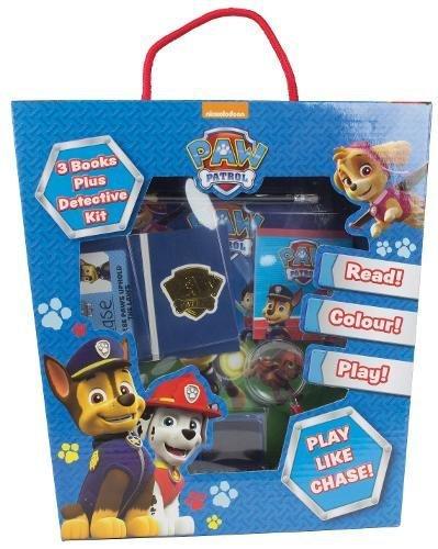 Nickelodeon PAW Patrol: 3 Books Plus Detective Kit (Jumbo Fun Box)