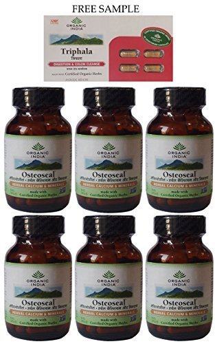 organic-india-osteoseal-60-veg-capsules-pack-of-6-free-expedited-shipping-via-dhl-express-delivery-i
