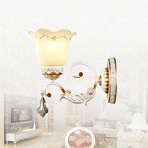 mode De style européen entrée lampe murale de luxe Chambre chevet salon couloir lampe murale escalier Élégant