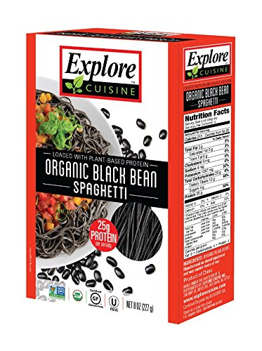 Explore Asian Organic Black Bean Spaghetti 200g (Pack of 6)