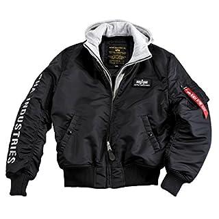 Alpha Industries - MA-1 D-Tec SE Jacke schwarz/grau / Größe: XL