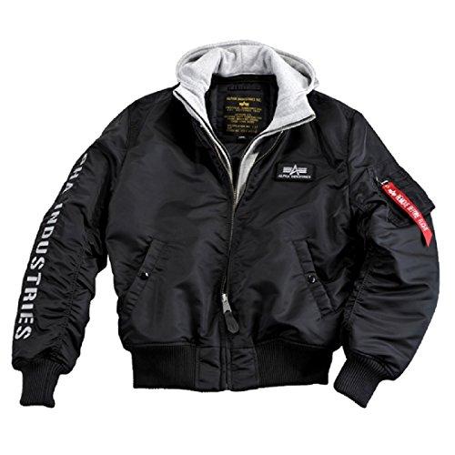 Preisvergleich Produktbild Alpha Industries - MA-1 D-Tec SE Jacke schwarz / grau / Größe: L