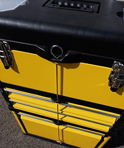 Metall Werkzeugtrolley Werkzeugkasten Werkstattwagen XL Type B305ABD von AS-S - 3