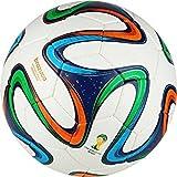 #6: Avatoz Brazuca Train Pro Official Replica Match Ball (Multicolor)