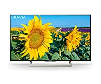Sony BRAVIA KD43XF8096 Android 4K HDR Ultra HD TV with Voice Remote/YouView and Freeview HD - Black