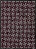 Broadway Türmatte Fußmatte Hahnentritt Beere Fb.11, Größe:50x70 cm