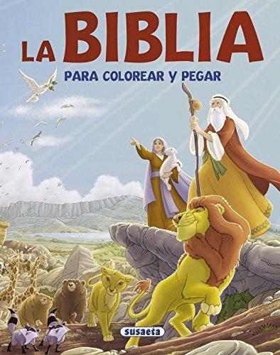 La Biblia para colorear y pegar por Isabel (adaptadora) López