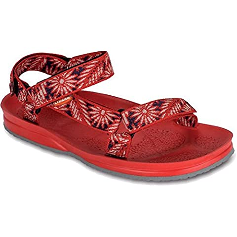 Lizard Sail daisy red/red