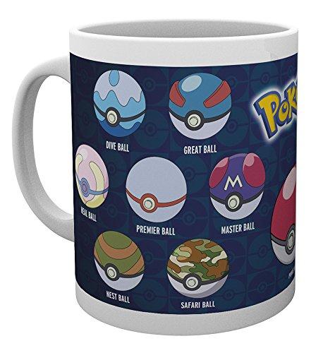GB-Eye-LTD-Pokemon-Ball-Varieties-Taza-de-Ceramica