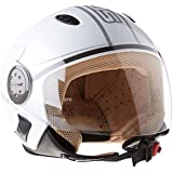 SOXON SP-317 Urban blanc casque JET moto Cruiser Pilot helmet - XL