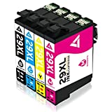 4-Packung für Epson 29 XL 29XL Kompatibel Druckerpatrone, Benutzen für Epson Expression Home XP-235 XP-245 XP-247 XP-330 XP-332 XP-335 XP-342 XP-345 XP-430 XP-432 XP-435 XP-442 XP-445 Drucker