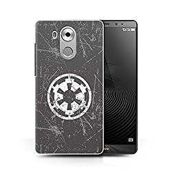 Hülle Für Huawei Mate 8 Galaktisches Symbol Kunst Galaktisches Imperium Inspiriert Design Transparent Ultra Dünn Klar Hart Schutz Handyhülle Case