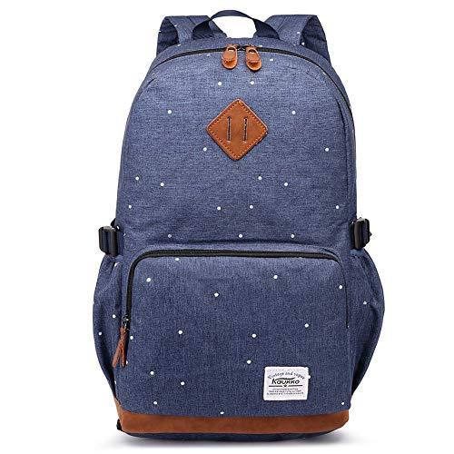 Kaukko Damen Rucksack Studenten Backpack Laptop College Schulrucksack Reiseeucksack*