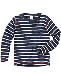 wellyou Ringel Langarm-Shirt blau-weiss